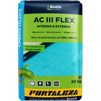 Argamassa ACIII Flexível Interna/Externa 20kg Cinza Fortaleza