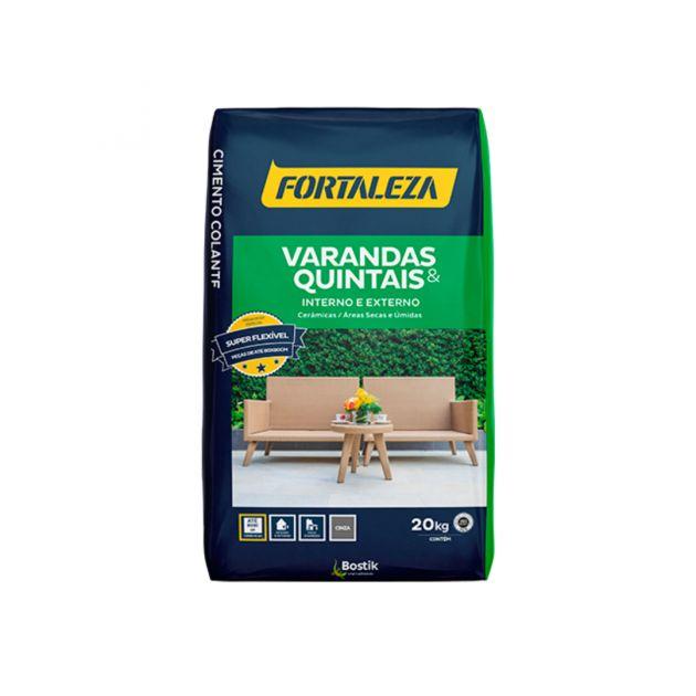 Argamassa Varandas E Quintais 20KG Fortaleza