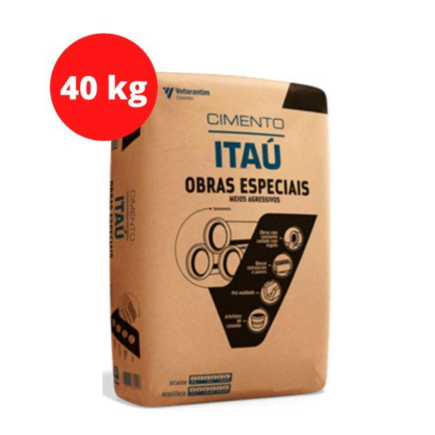 Cimento Obras Especiais CPVARI Ultra 40KG Itaú