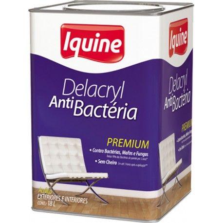 Delacryl Premium Semi Brilho 18L Branco Neve Iquine