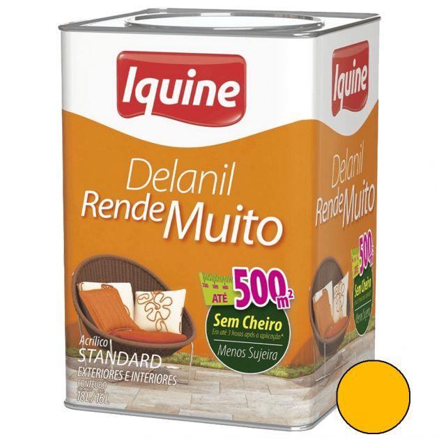 Delanil Acrílico Fosco 18L Caju Iquine