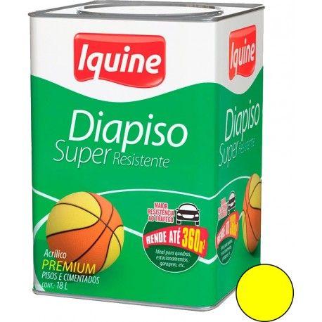Diapiso Demarcação 18L Amarelo Iquine