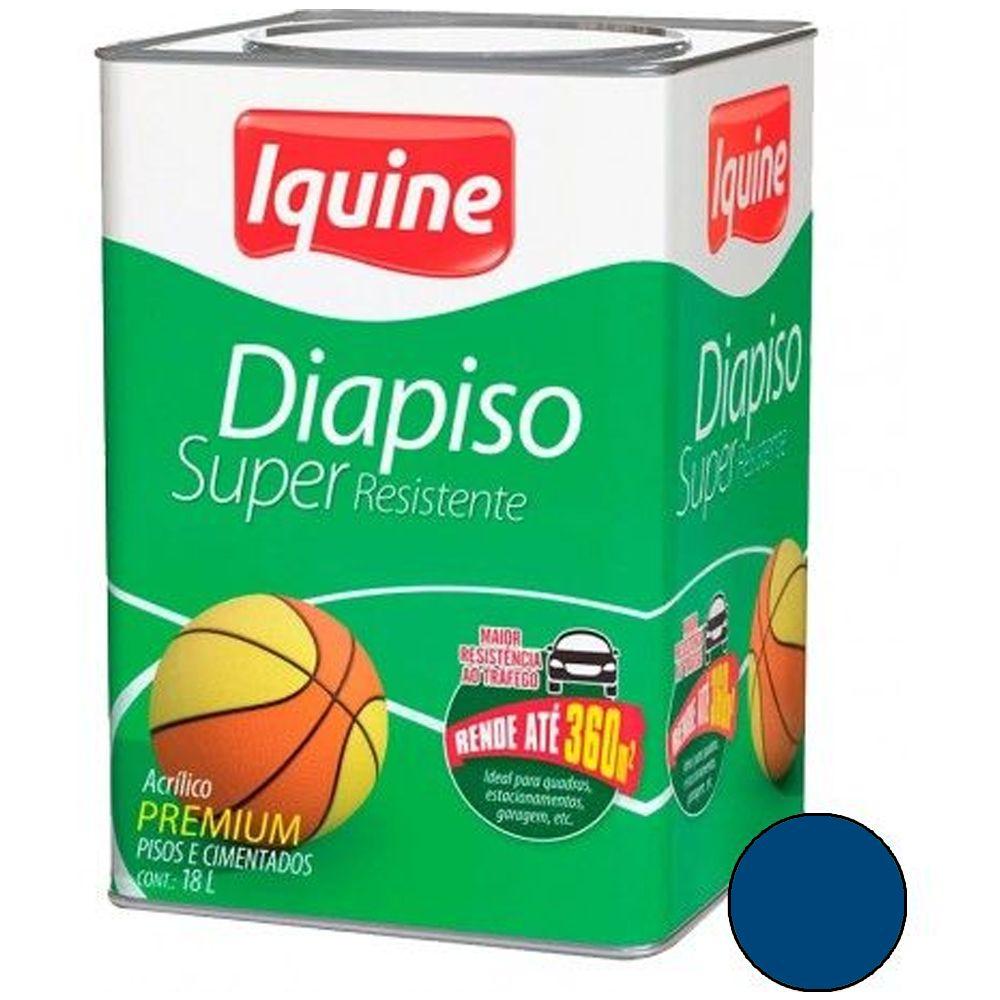 Diapiso Super Resistente 18L Azul Profundo Iquine