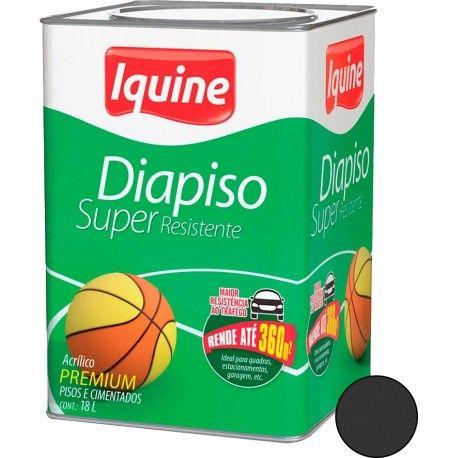Diapiso Super Resistente 18L Cinza Escuro Iquine