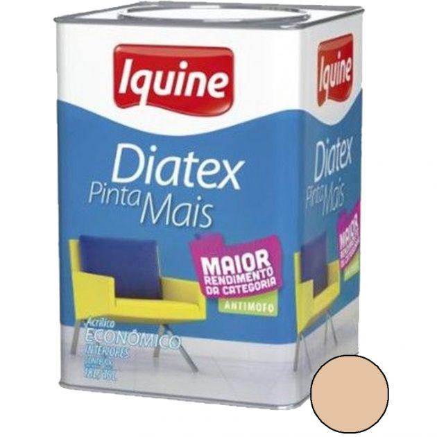 Diatex Acrílico 18L Areia Iquine