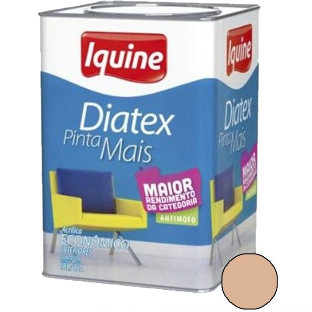 Diatex Acrílico 18L Pêssego Iquine