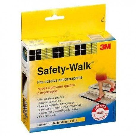 Fita Antiderrapante Safety Walk Transparente 50MMX5M 3M