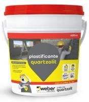 Impermeabilizante Aditivo Plastificante 18L Peto Quartzolit