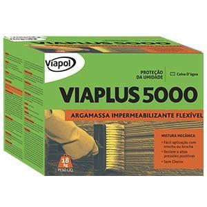 Impermeabilizante Viaplus 5000 Fibras 18kg Viapol