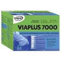 Impermeabilizante Viaplus 7000 Fibras Caixa 18KG Viapol
